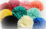 Fringe Fabric Flowers